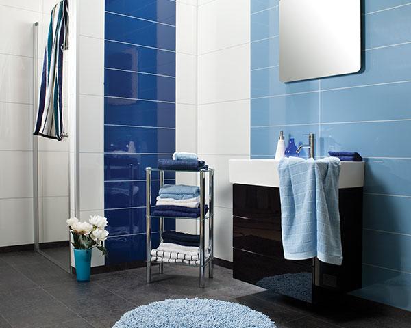 Henk smetsers timmerwerken - Badkamer blauw ...